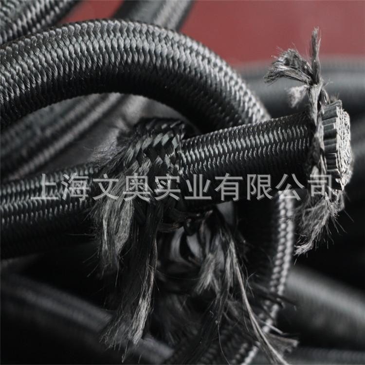 上海文奥绳带生产供应2cm双层耐磨纱松紧绳 吊装专用弹力绳