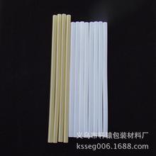 厂家直供7mm热熔胶棒白色透明胶条超强粘性环保热熔胶棒批发