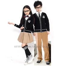 儿童童装春秋冬装2016韩国幼儿园园服小学生毛衣校服套装秋季新款