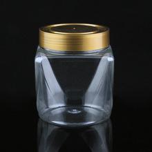 北京生產廠家直銷pet廣口瓶 透明異形罐 干果雜糧罐 食品級塑料罐