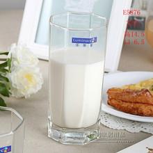 法国弓箭乐美雅八角直身杯E5876 32CL 玻璃杯威士忌杯啤酒杯水杯