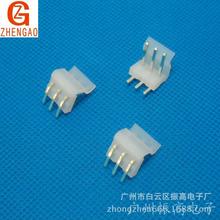 CH3.96間距白色彎針座 2AW3AW4AW5AW6AW-11AW直角插頭連接器