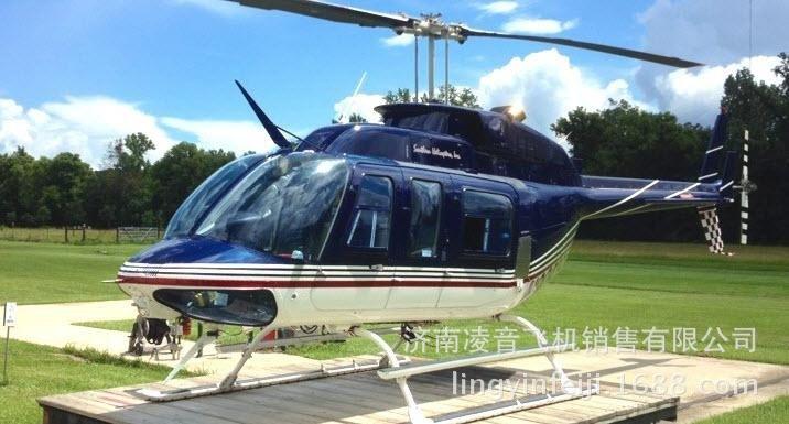 济南私人直升飞机4s店 06贝尔206l-4直升机 济南直升机销售租赁