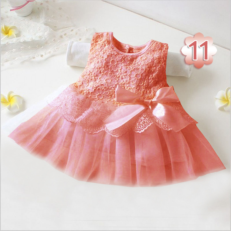 9db3c00177aa 2019 Summer Mesh Dresses Cute Girl Dresses Sleeveless Bow Dress For Baby  Girls Flower Girl Princess Bow Dress Toddler Wedding Party Pageant From  Shandianxia ...