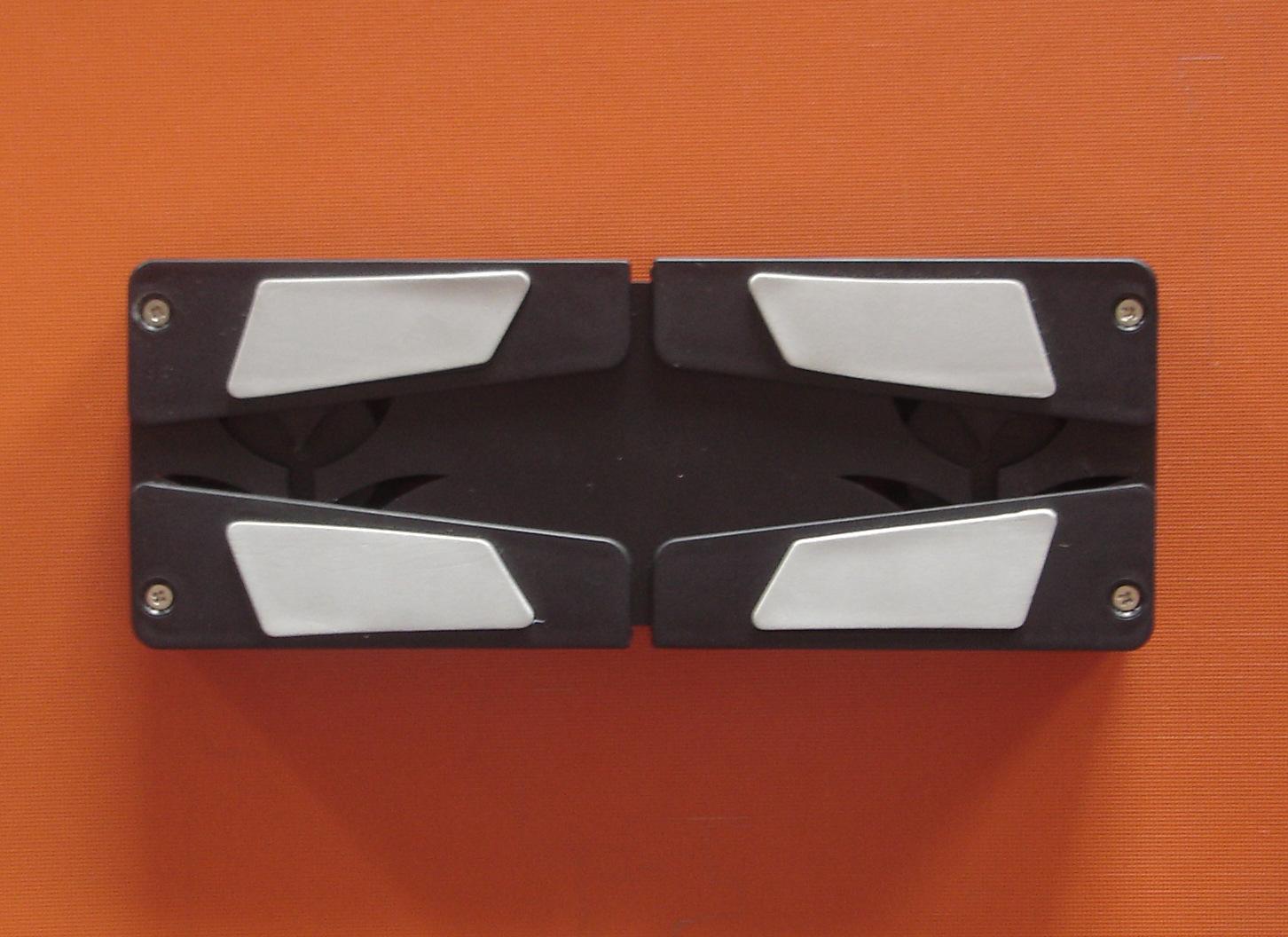 双风扇笔记本电脑散热座可折叠的笔记本散热器精美的笔记本散热座