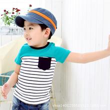 1-5元童裝批發 夏季新款童裝批發 小童卡通純棉短袖T恤 韓版童t恤