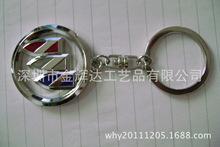 厂家生产:烤漆钥匙扣/仿珐琅钥匙扣 锌合金匙扣 印刷匙扣