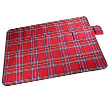 供应腈纶200*150cm野餐垫 超大防潮垫 户外野餐垫 便携野餐毯