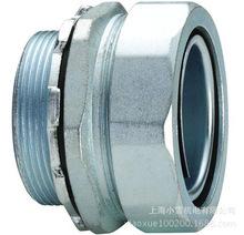 金属软管镀锌快速接头外牙DPJ-10mm 六角螺帽DPJ型端接头