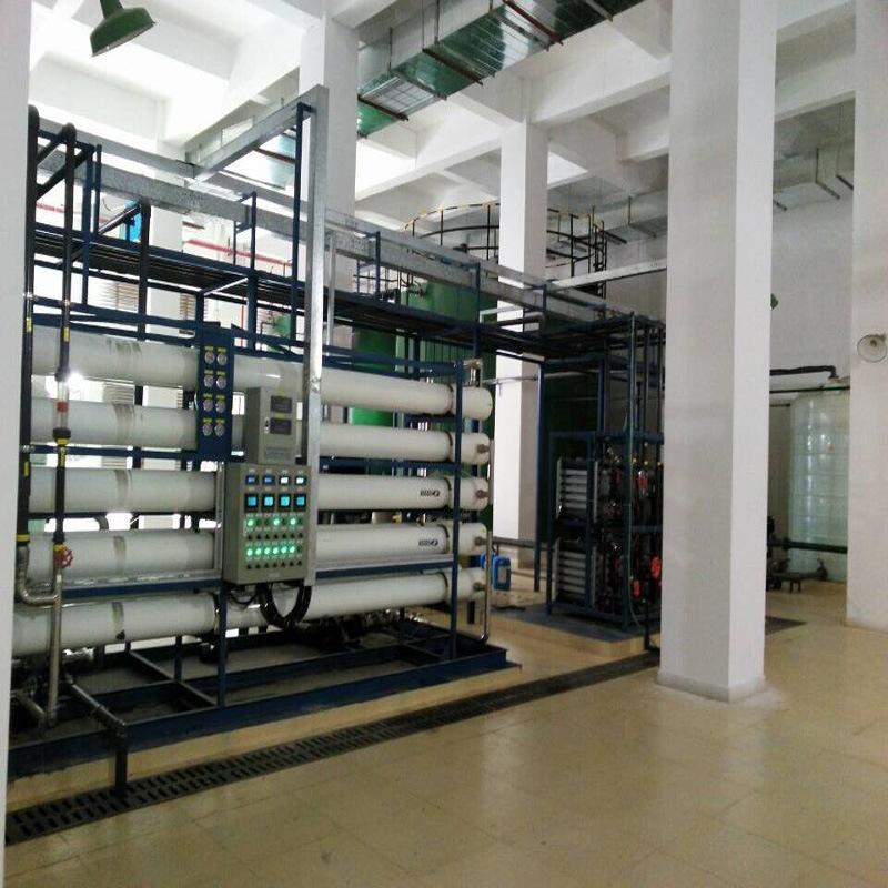 20吨二级反渗透+EDI超纯水设施