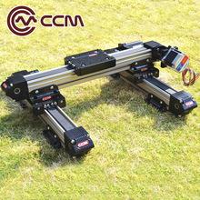热销供应 喷涂机工作台用xy 直线驱动皮带轮光轴导轨 滑动导轨