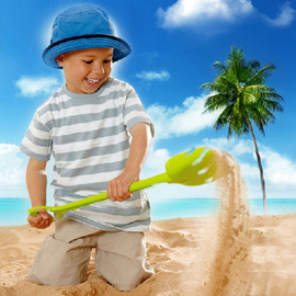 Children's beach toys set dredging tools large baby play sand play water toys puzzle beach toys series