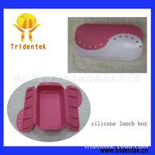 新款硅胶硅胶保鲜盒 礼品硅胶折叠饭盒定制 现模热销硅胶饭盒批发