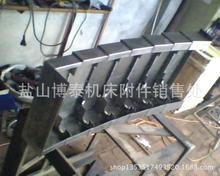 供应不锈钢板防护罩,沈阳机床龙门铣导轨钢板防护罩