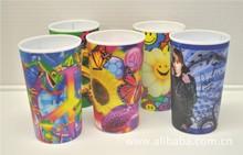 供应塑胶贴花纸口杯