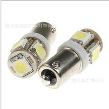 批發BA9S-5燈示寬燈門燈牌照車廂尾箱行車燈高亮LED5050