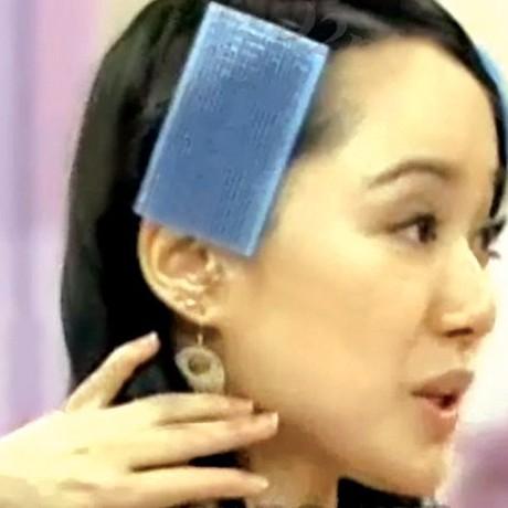 Làm tóc phụ kiện Trang chủ ma thuật bangs dán trước khi đăng Cố định không đăng bài ma thuật Giá duy nhất
