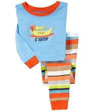 厂家批发儿童童装日韩外贸家居服男孩女孩童内衣童套装