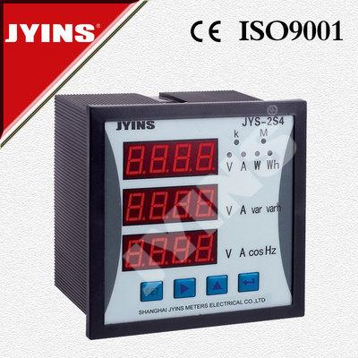 厂家直销 120*120液晶多功能电力仪表 三相多功能电力仪表 数显表