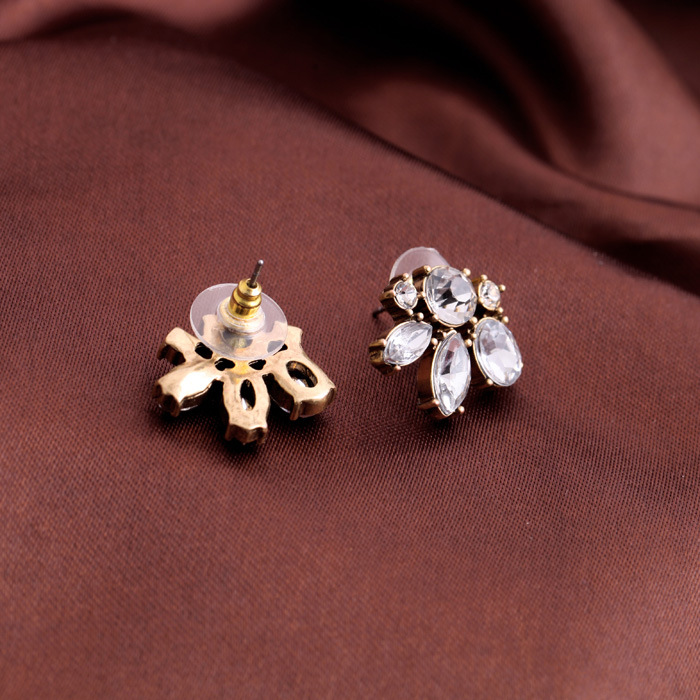 Occident alloy Drill set Earrings  NHQD1805