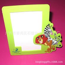 相框pvc塑料 美式卡通立体PVC软胶相框  创意实用相框相架可定制