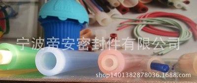 铂金硫化食品级透明无味硅胶管,彩色硅胶管