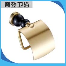 强力推荐 全铜创意浴室五金挂件 优质精美手纸架 价格便宜