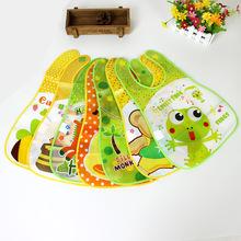 外貿OEM加工立體免洗嬰兒童寶寶食飯兜EVA圍兜圍嘴防水罩衣口水巾