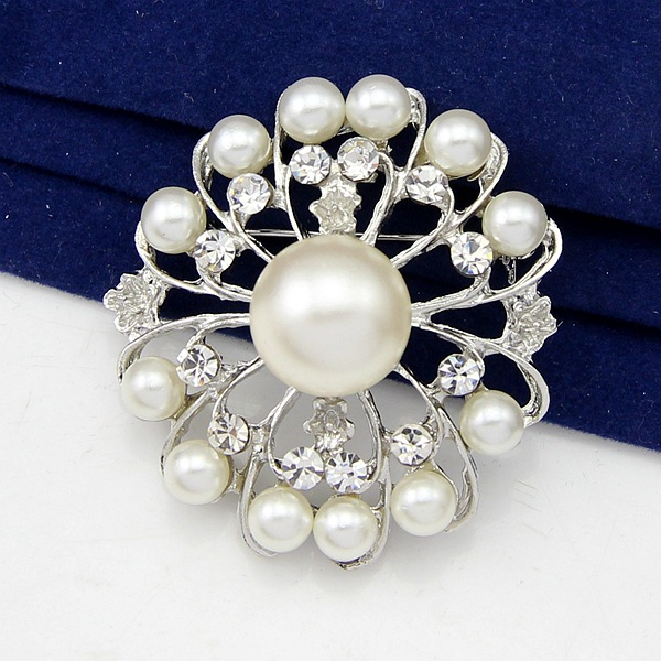Korean version alloy plating brooch (Main color Aa038-A)NHDR1844-Main color Aa038-A