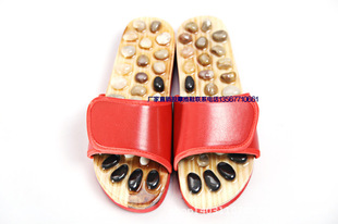 Wholesale pebbles massage slippers, foot acupoints, home shoes, men and women summer couple models, can be customized and printed with LOGO