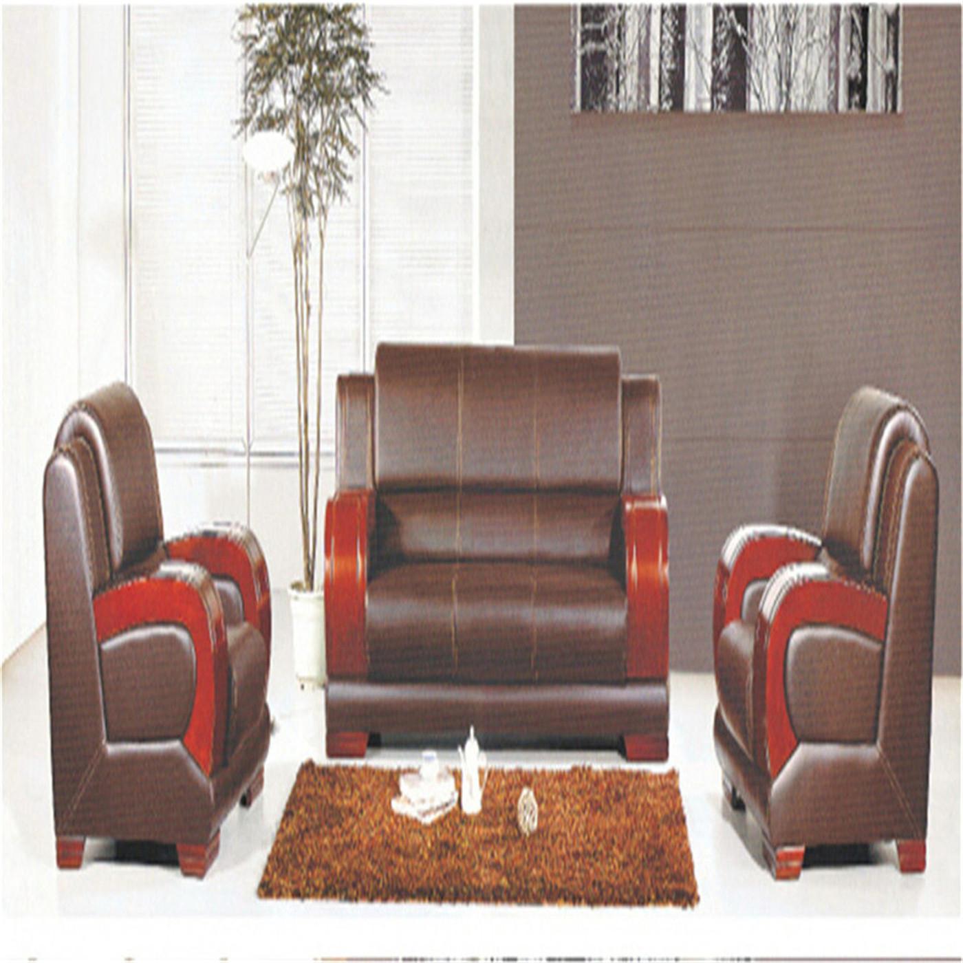 厂家批发实木扶手沙发时尚2020新款大厅实木扶手沙发大款办公沙发