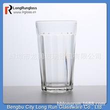 2019蚌埠廠家直銷玻璃杯300毫升啤酒杯 八角玻璃杯 水杯