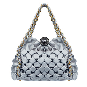 Female bag European and American fashion bag handbag diamond lattice Shell bag