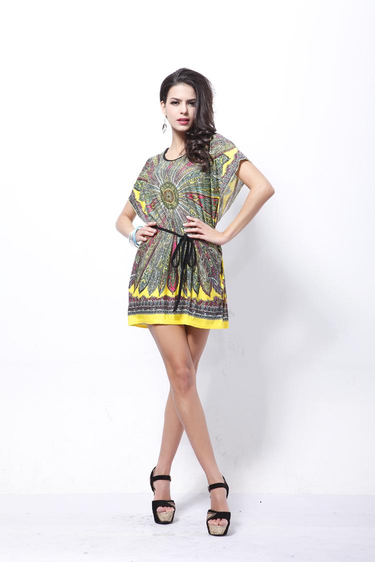 Polyester Fashiondress(Black - One Size) NHDF0309-Black - One Size