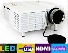 厂家直销 优丽可UC28+ LED投影机家用高清迷你投影仪 微型1080P