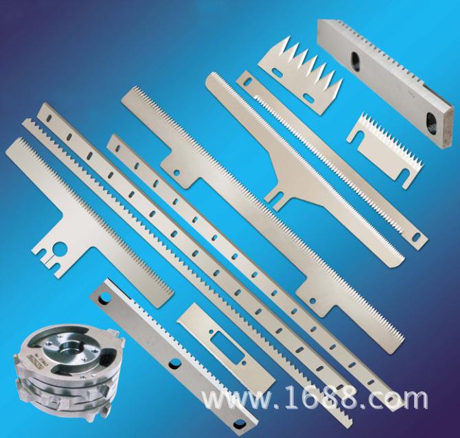 封箱机齿刀片 自动包装机T形锯齿形刀 切胶带封口机锯齿切刀 特价
