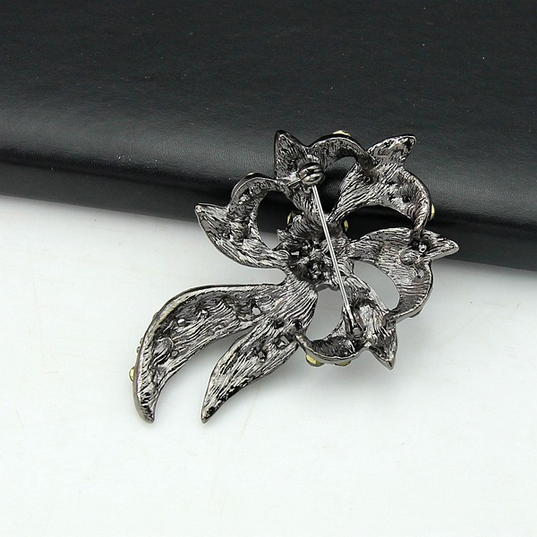 Occident and the United States alloy plating brooch (Gun black black AC081-A)NHDR1846-Gun black black AC081-A