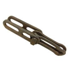 易拆输送链 传动工业链条 XT100 链扣锻造 承受16吨拉力 厂家直销