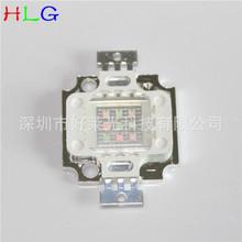 供应10W集成绿光led灯珠 10W方形绿光 10W大功率LED 38X38MIL