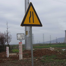 Square SMC high-strength wear-resistant anti-corrosion traffic road safety sign