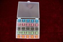 多功能家用电动缝纫机盒装25个彩色梭芯 线芯 2518P