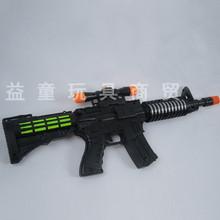 临沂益童男生最爱 电动冲锋枪玩具 闪光 音乐 地摊热销 批发价格