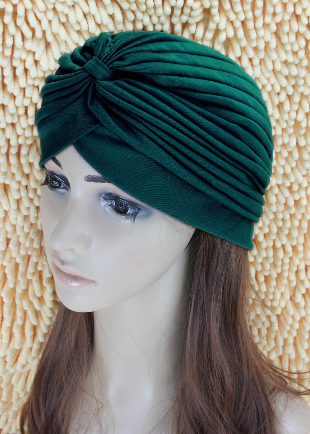 India Baotou dark green cap