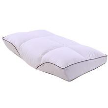 白鹅绒枕芯 羽绒枕芯 记忆回弹棉枕头全棉保健护颈枕头纯棉芯子