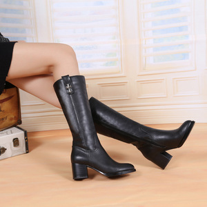 European add wool ladies boots high-heeled boots Martin boots