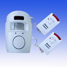 105人體感應報警器 現場報警器 家用防盜報警器 紅外報警器