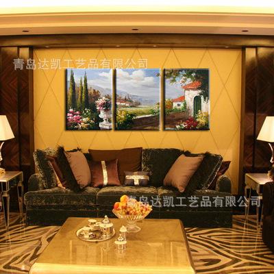 批发定制客酒店客厅客房装饰画现代欧美无框画壁画