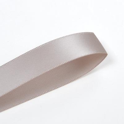 Yao Ming Ribbon Công ty Bán buôn Ribbon Satin hai mặt Trẻ em Mặc Ribbon 16mm Brown 810-837