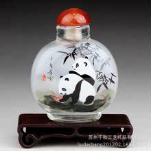 中国风民间纯手工艺品鼻烟壶内画礼物送老外的中国特色工艺 礼品