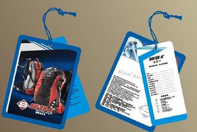 吊牌订做 服装吊牌印刷厂 衣服标签印刷 吊牌工艺印刷厂 汕头